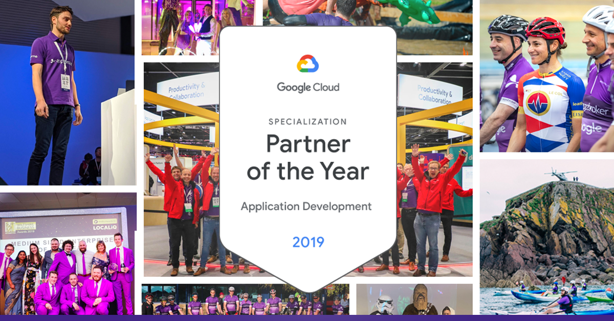 Appsbroker 2019 Google Cloud Specialization Partner of the Year for Application Development